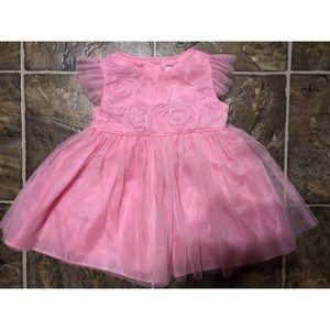 6-9 Month Pink Rosette Dress
